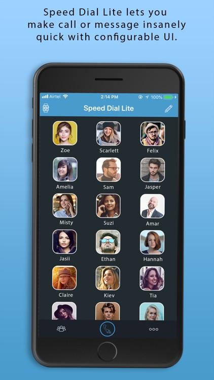 Speed Dial - Lite screenshot-5