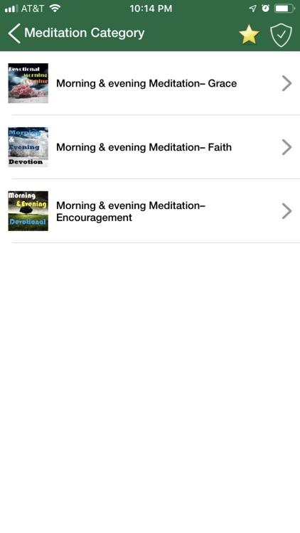 Meditation - Morning & Evening