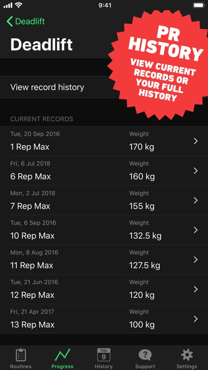 HeavySet - Gym Workout Log screenshot-6