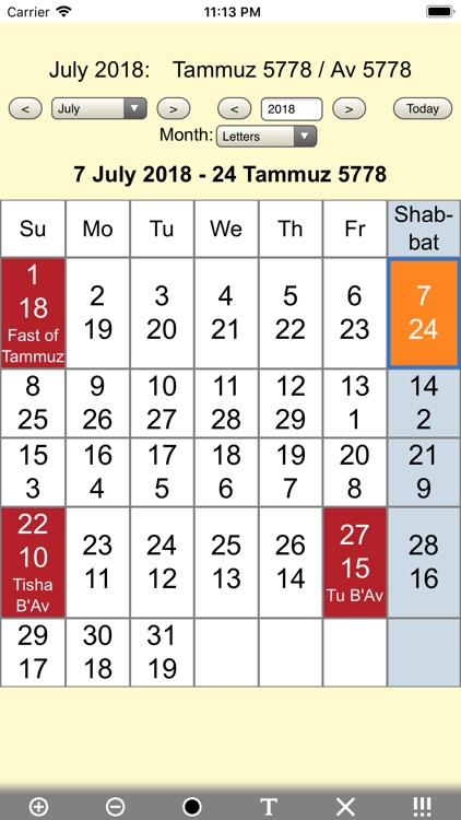 Jewish Calendar and Holidays L