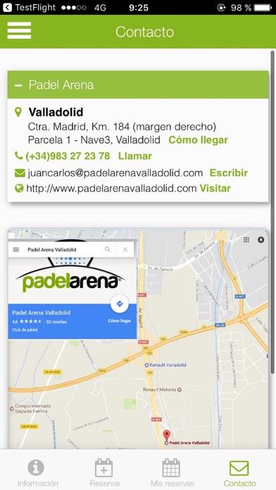 Padel Arena Valladolid screenshot 2
