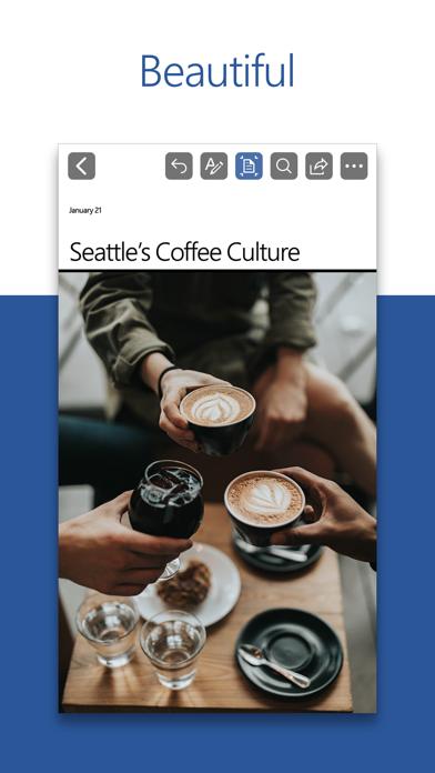 Screenshot for Microsoft Word in New Zealand App Store