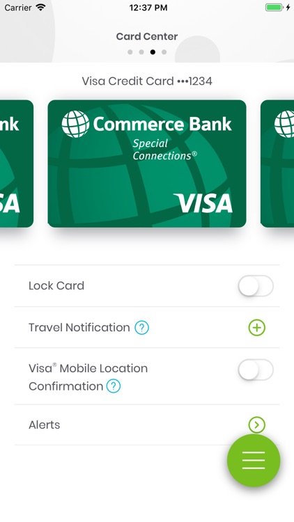 Commerce Bank for iPhone screenshot-3
