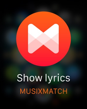 ‎Musixmatch Lyrics Finder Screenshot