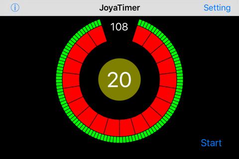 JoyaTimer - náhled