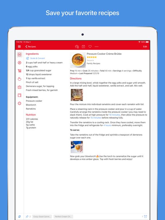 Paprika Recipe Manager 3 Screenshots