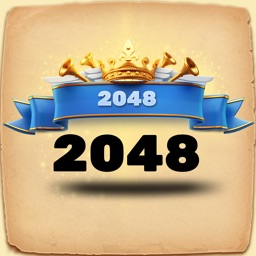 2048 Number Puzzle Game.