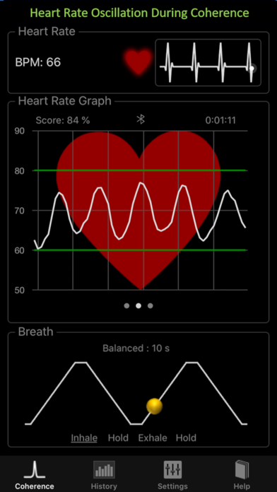Heart Rate + Coherence PROのおすすめ画像1