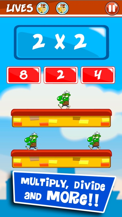 Monster Numbers: Basic math screenshot-3