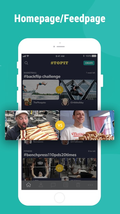 #TopIt · Challenges For Fun