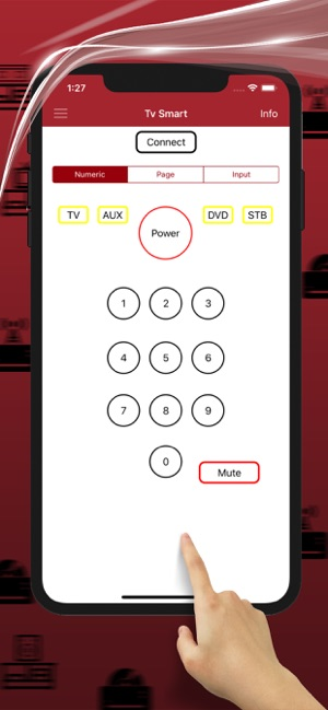 Remote codes for STB Smart on the App Store