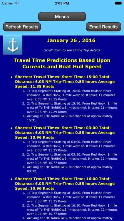 Gulf Trip Plan w/Current+Tides screenshot-4