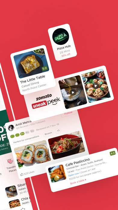 Screenshot #2 pour Zomato - Food & Restaurants