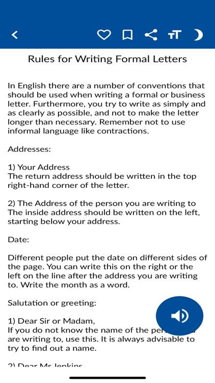 English Letter Writing Guide screenshot-4