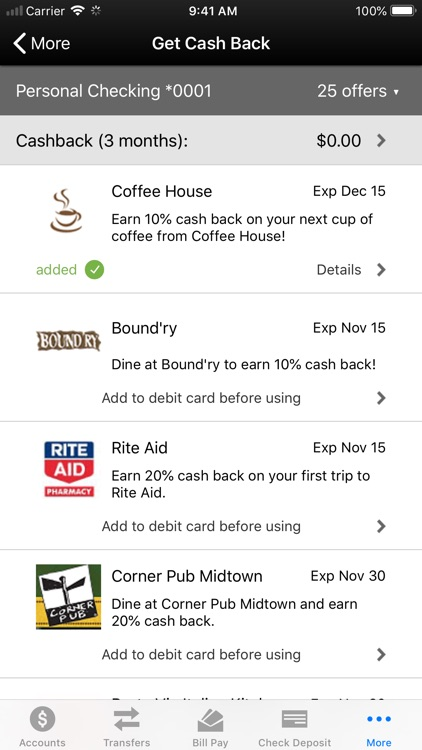 First City Credit Union Mobile screenshot-6