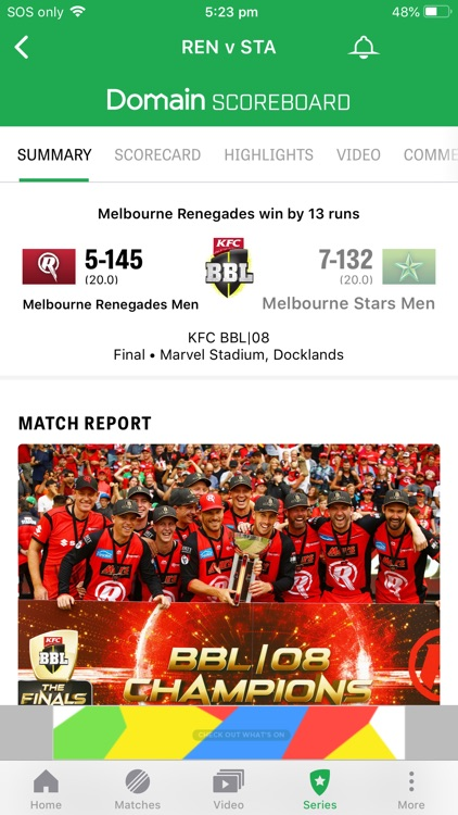 Cricket Australia Live screenshot-6