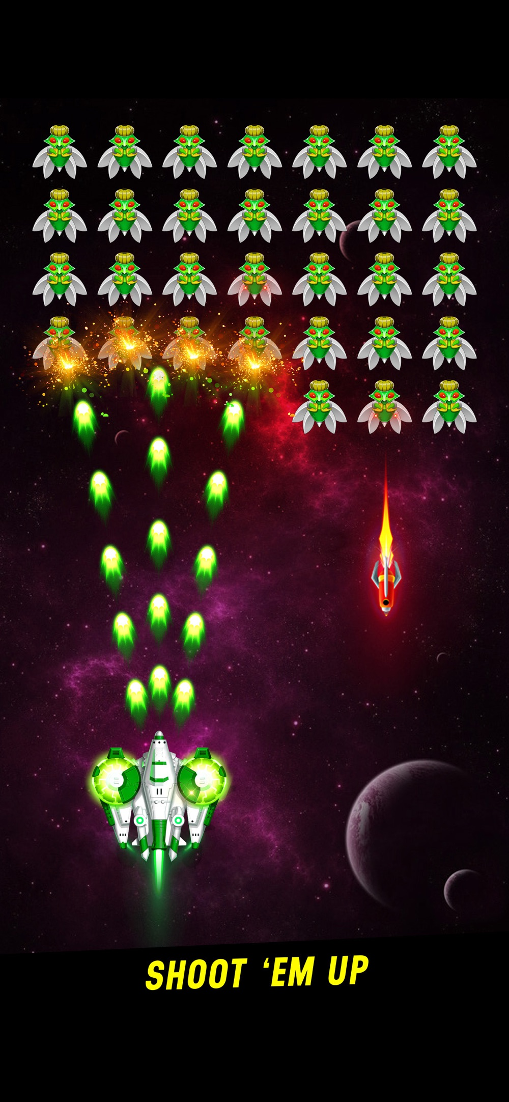 Galaxy Attack: Space Shooter Cheat Codes