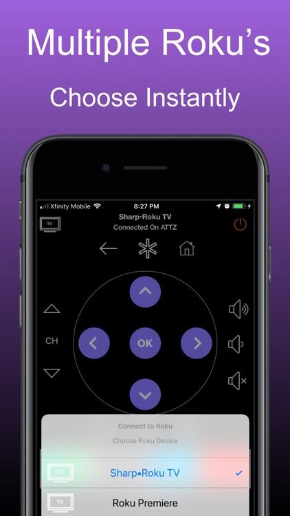 Remote for Roku Tvs: iRoku Pro screenshot-7