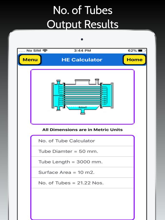 Heat Exchanger Area Pro screenshot 16