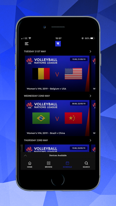 Volleyball TV screenshot four