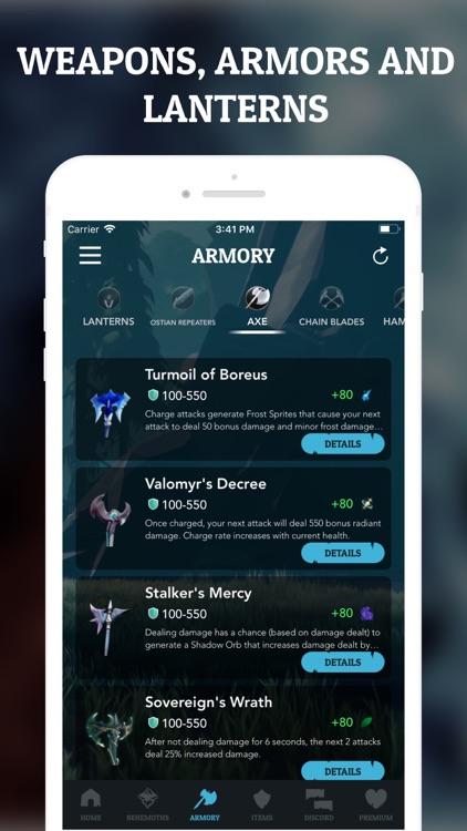 Guide for Dauntless screenshot-3