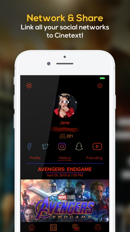 Cinetext: Check-In App screenshot-4