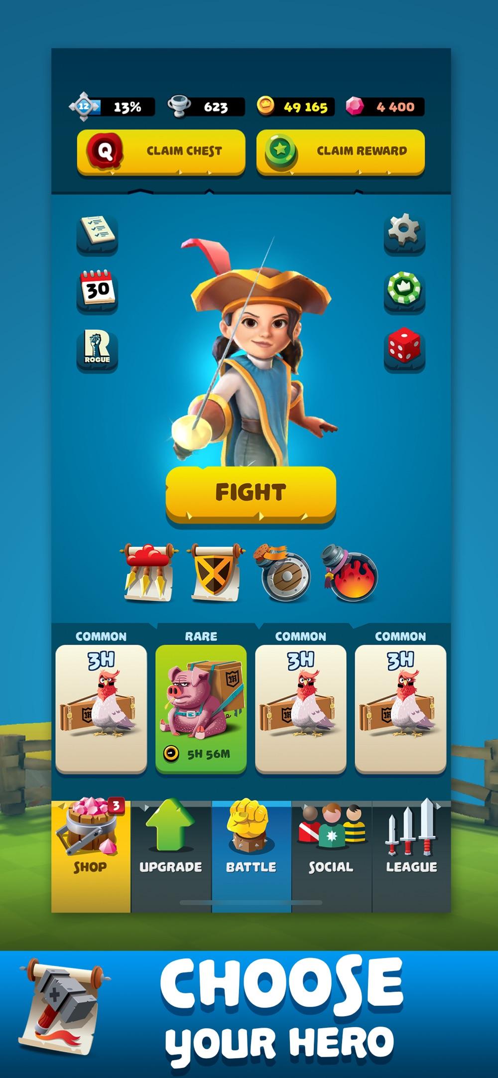 Knockdown Heroes hack tool