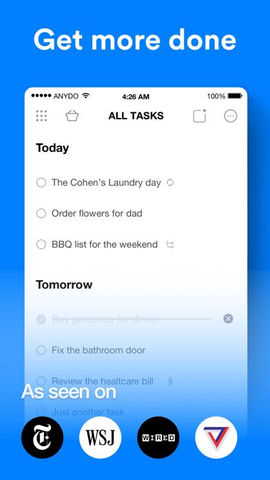 Any.do: To-do list & Tasks Screenshot