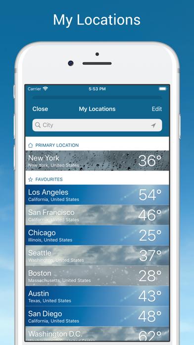 Weather & Radar USA Pro Screenshot
