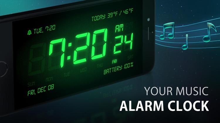 Alarm Clock HD screenshot-0