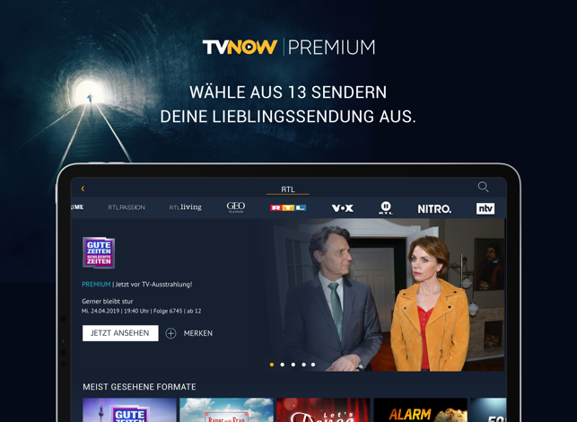 TVNOW PREMIUM Screenshot