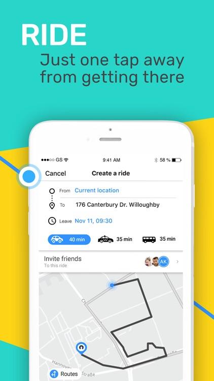 Plan & Ride Together with SoMo screenshot-3