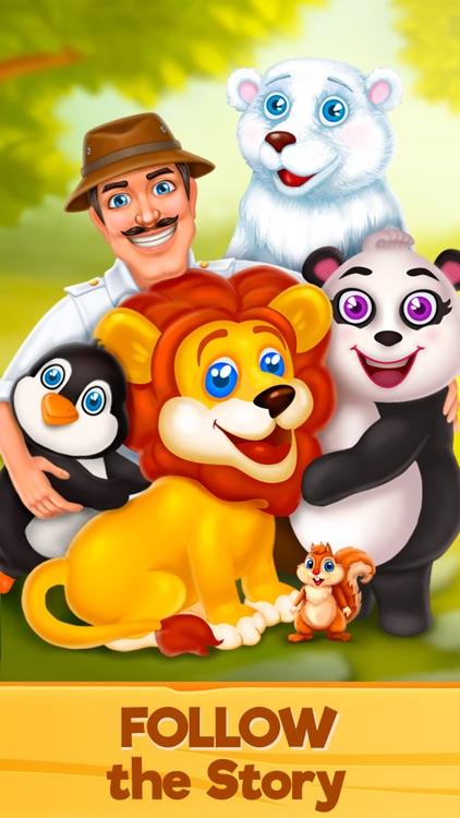 Zoo Rescue: Match 3 & Animals screenshot-4
