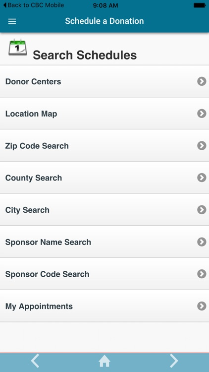 Carter BloodCare Mobile App
