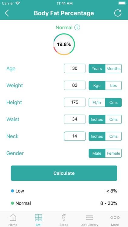 Calorie Counter - Daily Steps screenshot-6