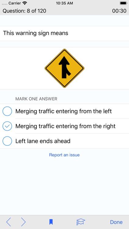 Texas DMV Test Prep screenshot-3