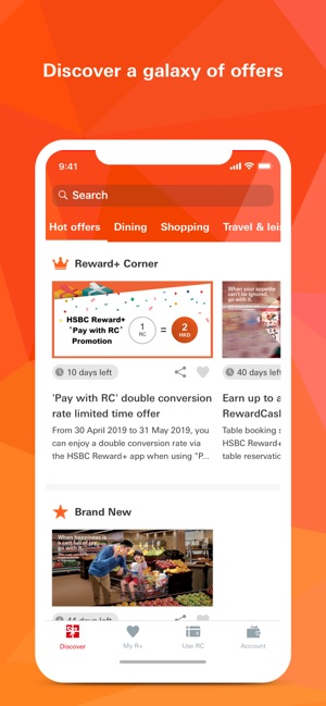 HSBC HK Reward+ on the App Store