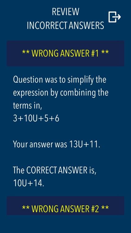 Algebra - Practice and prep screenshot-8