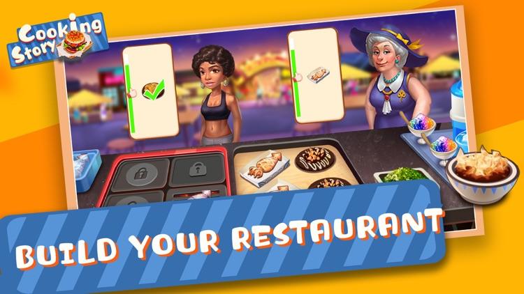 Cooking Story - Food Games screenshot-4
