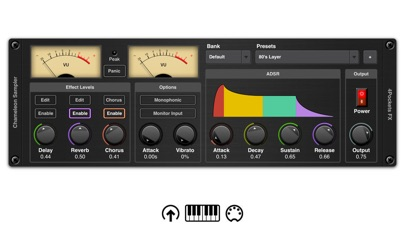 Chameleon AUv3 Sampler Plugin screenshot 1