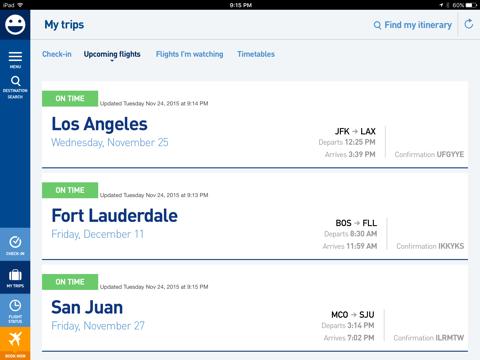 JetBlue - Book & manage trips - náhled