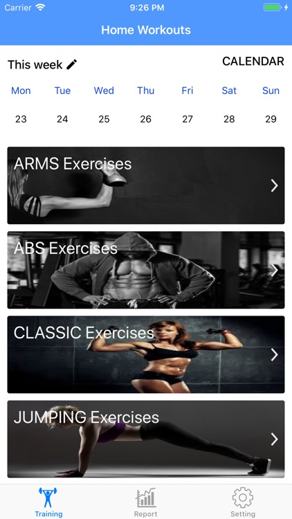 Home Workouts & No equipment