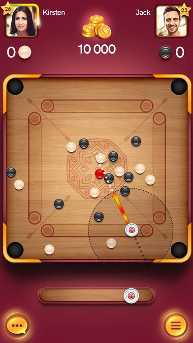 Carrom Disc Poolلقطة شاشة4