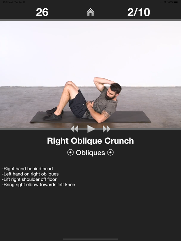 Daily Ab Workout - Abs Fitness-ipad-1