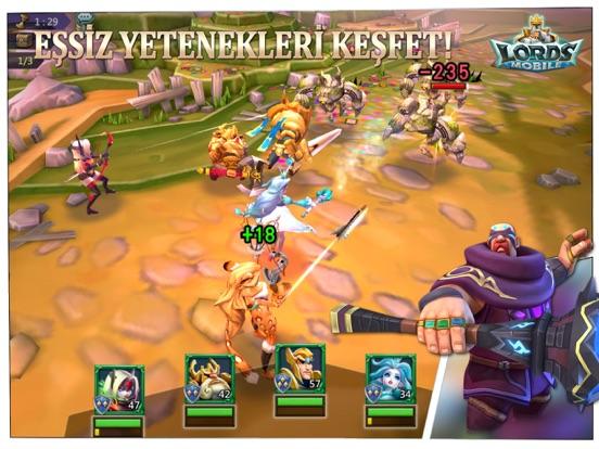 Lords Mobile ipad ekran görüntüleri