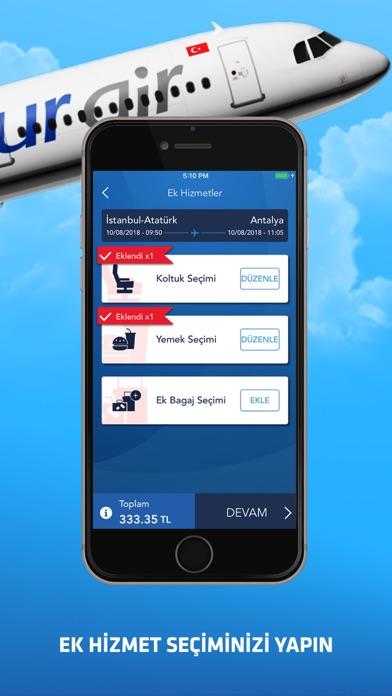 Screenshot for Onur Air in Turkey App Store