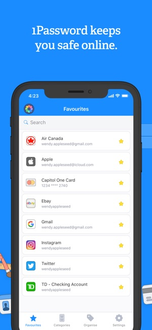 1Password - Password Manager na App Store