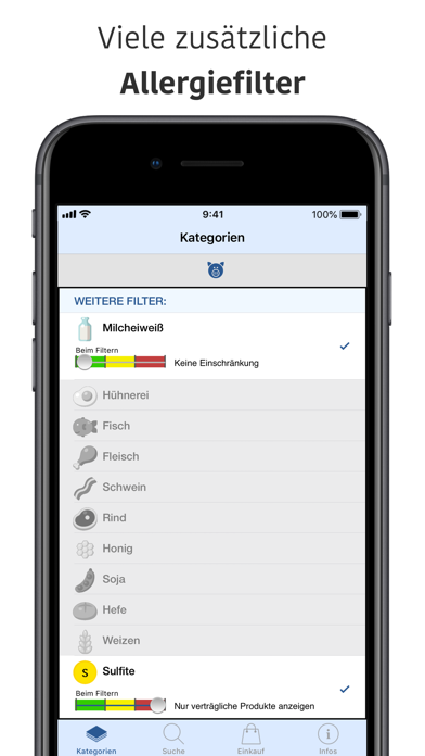 Screenshot for Histamin, Fructose & Co. in Germany App Store