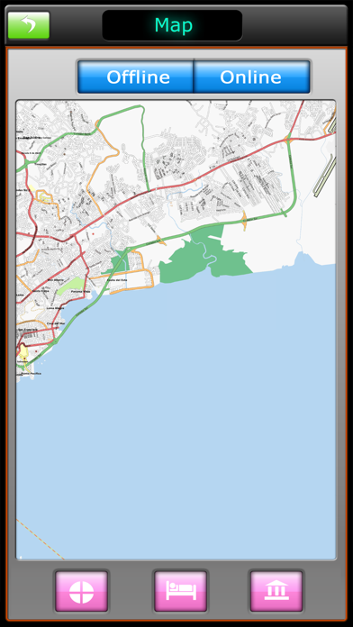 Panama Offline Map Guide screenshot four