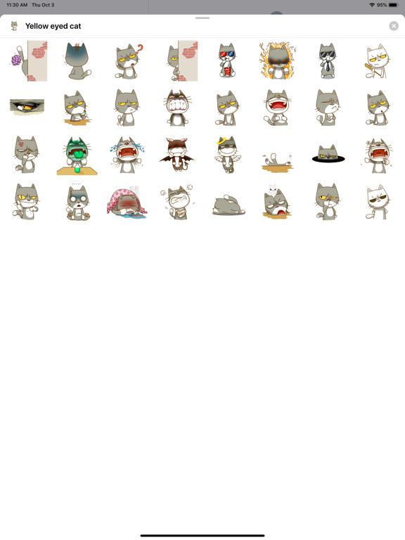 Yellow eyed cat screenshot 3